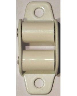 Guide sangle blanc pour sangle de 12 mm