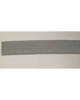 Sangle polyester gris 20mm L6m