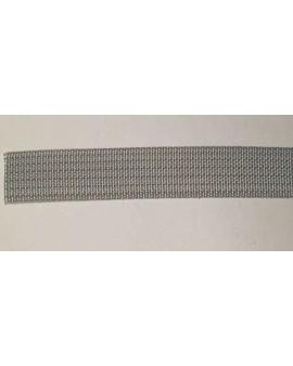 Sangle polyester gris 12mm L6m