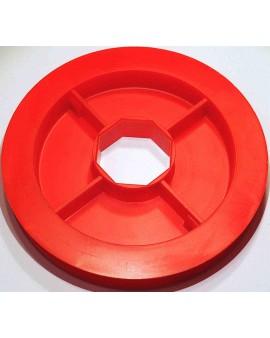 Poulie PVC Ø 150mm pour tube octo 40 et sangle de 15mm