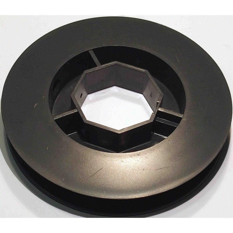 poulie pvc pour tube octo 40 120 pour embout 252600 coussinet nylon b106 stores frezet. Black Bedroom Furniture Sets. Home Design Ideas