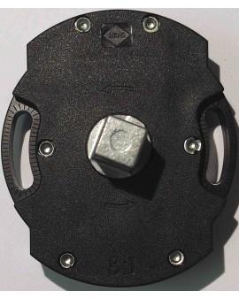 Treuil avec pivot octo 15 carré 13/ tige 6 pans 7 rapport 1/8 avec fin de course