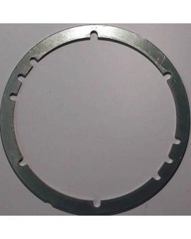 Bride de fixation pour treuil T 1002 en acier galvanisé