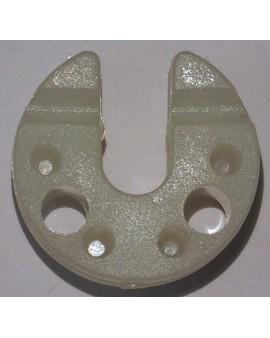 Palier nylon pour axe Ø 8