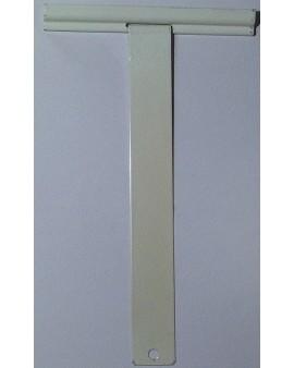 Attache pour tube à visser longueur 160mm épaisseur 8mm