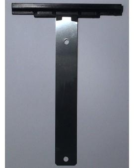 Attache tablier à visser pour tube ZF 45 54 64 pour lames épaisseur 8mm
