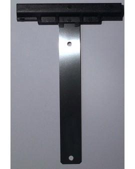 Attache tablier à visser Lame inox pour tube ZF 45 54 64 pour lames épaisseur 14mm