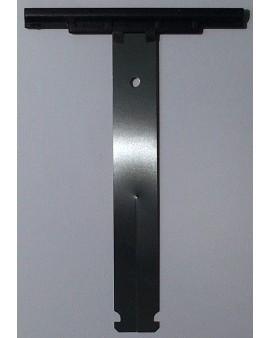 Attache de tablier à clipper pour tube ZF 45 54 64 pour lames épaisseur 8mm