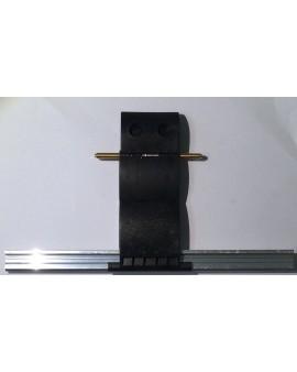 Verrou de sécurité blocksur épaisseur lame 8 mm / 2 maillons