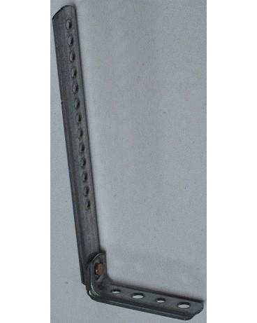 Jambe de force en tôle galvanisé épaisseur 2mm