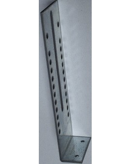 Eqerre/ Plaque opposé manoeuvre en acier galvanisé