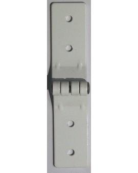 Charnière de projection en aluminium blanc