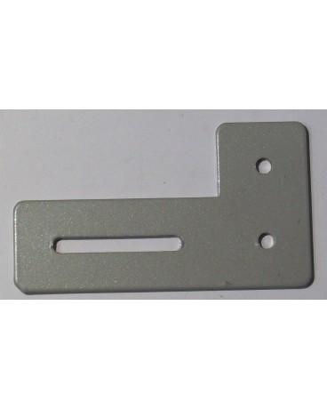 Équerre de projection en aluminium laquée gris