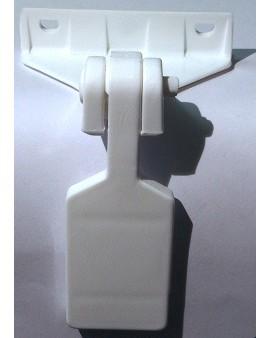 Arrêts Grosfillex PVC blanc
