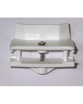 Butée centrale PVC GROSFILLEX blanc