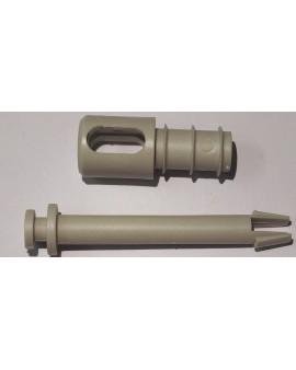 Embout de barre de charge télescopique Soliso PVC Ø 18 extérieur