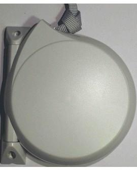 Enrouleur conviv gris avec sangle 12mm L 5m