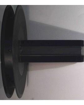 Poulie Ø 158 avec moyeu collerette G170D Téton Ø 12 int