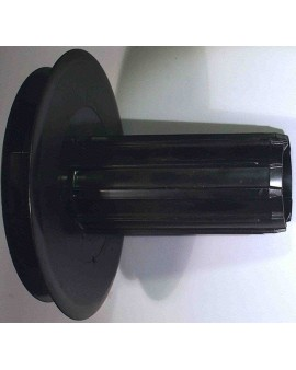 Poulie à embout ZF54 Ø125mm avec Porte roulement pour sangle 14mm