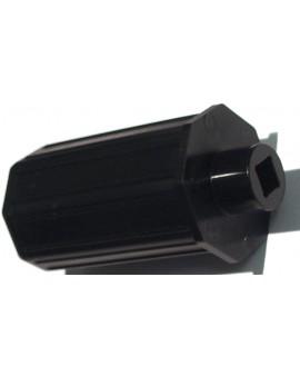 Embout palier Ø 18mm carré 8 pour tube octo 40