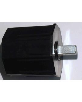 Embout plastique avec pivot carré 10 pour tube octo 60