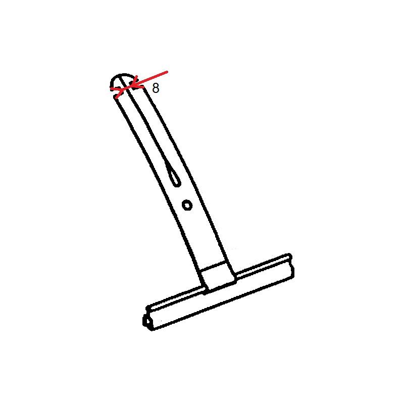 Attache tablier clipper pour tube octo 40 et 60 pour - Attache volet roulant ...