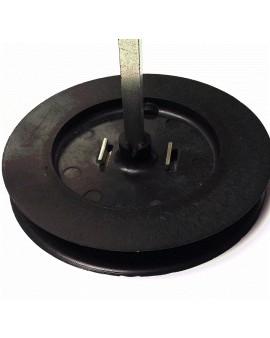 Poulie BUBENDORFF Ø 126mm pour sangle 12 mm avec carré 8 non démontable