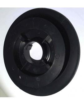 Poulie clippable Ø 170mm pour sangle 15 mm et sur embouts escamotables pour tubes ZF45-54-64 et Octo 40-60