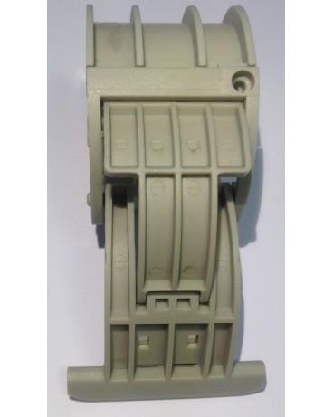 Verrou de sécurité attache rigide pour tube ZF 54 64 épaisseur lame 8mm