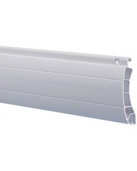 Lame PVC 37mm blanc avec ajourages