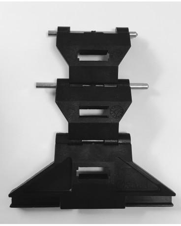 Verrou CLICKSUR pour tube ZF 54 64 épaisseur lame 8mm