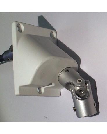 Double cardan sortie à 90° modèle droit pour manivelle Ø 12/ tige 6 pans 7