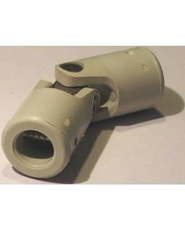 Genoullère en matériel composite carré 8 6 Pans 10 gris