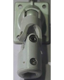 Passe caisson gris pour manivelle 6 pans 10/ tige 6 pans 7 L 500mm