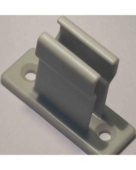 Bloqueur en plastique 50x18 H 35mm gris