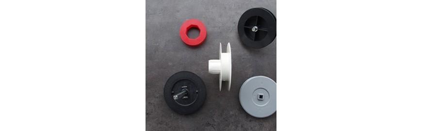 large choix de poulie pour volet roulant avec plusieurs diametre possible et pour differents. Black Bedroom Furniture Sets. Home Design Ideas